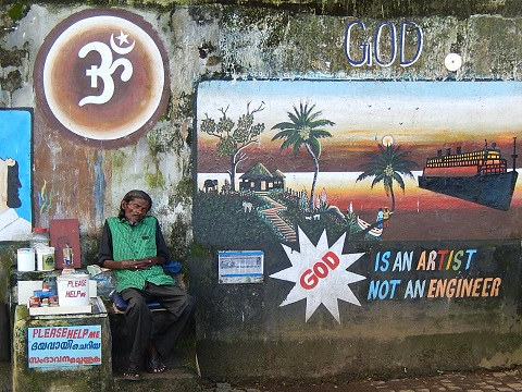 God is an Artist; India 2015