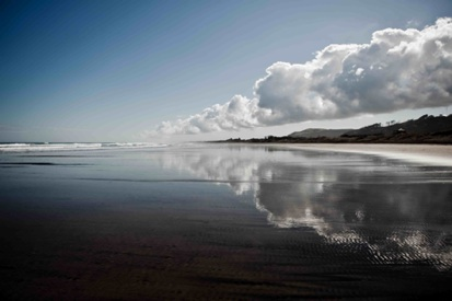 Kim Vaafusu - First week of Spring at Muriwai Beach-1
