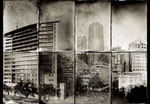 Martine Sowter - Wetplate Cityscape