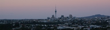 Brent Russell; Auckland Panorama; East from Mt Albert