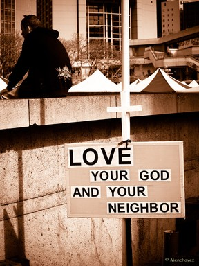 Love your God and your Neighbour