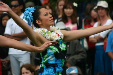 Aruna Po Ching;HULA BLISS; In the hula moment...
