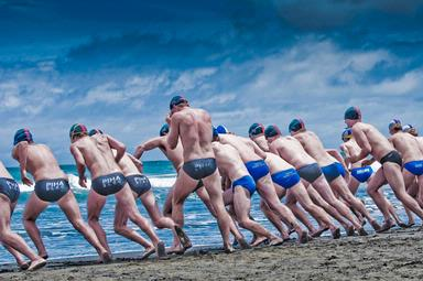Juan Botindari;On your marks;Taken on carnival day on muriwai beach