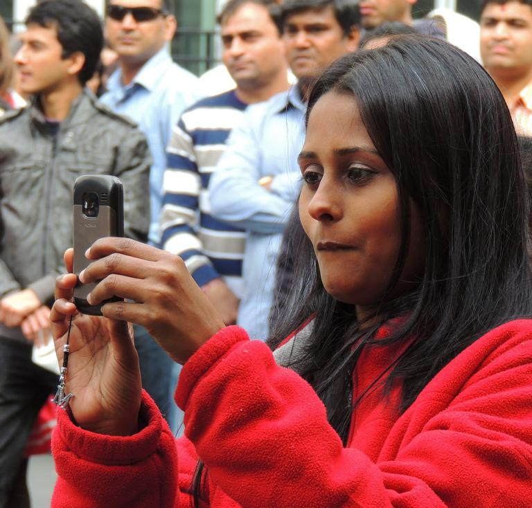 It is great shooting Street Photographers at the Diwali Festival