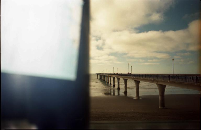 Jenny Partington; New Brighton Pier; Pier in New Brighton, Christchurch shot with 35mm kodak colour film on amateur film camera