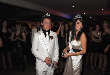 Phillipa Karn;King and Queen of Waiheke High School Prom
