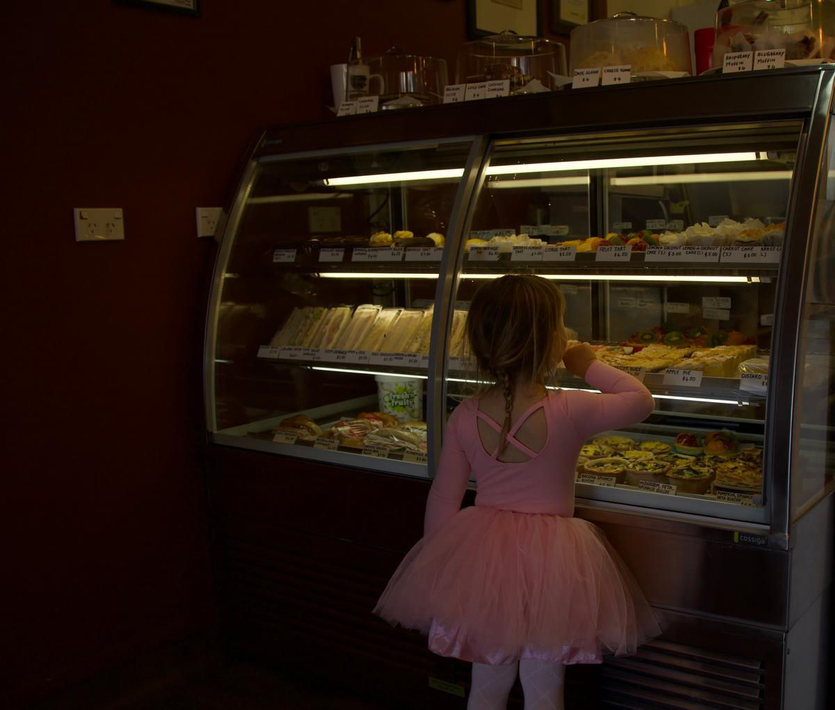 Vidal Rodriguez;After ballet treat