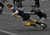 Max Thomson; True Grit; Dave Thomas scoring the decisive try to clinch the Secondary Schools 1st XV Auckland Final at Eden Park