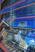 Jo Mertens; City Reflected; Reflections in Glasshouse of Britomart