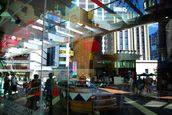 Jo Mertens; Transparent Auckland; Glass Facade of Skycity