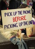 Chrysler Menchavez; Pick up the phone before picking up the bat; Silent Voices   March against Child Abuse