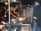 Paul Barrett; Mussel Cooking;Lantern Fesival 2010