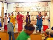 Alwynne Wedgwood; Samoan Dance at the Church Concert; Every Year St Andrews Otahuhu has a concert where the different groups put on items. These are the Samoan Fellowship Mamas dancing