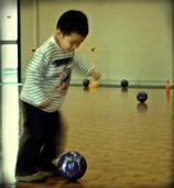fillicia widjaya; mini soccer; future All White player in training at mini soccer club at howick