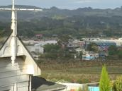 Katrena DOREEN; My View in Helensville; just shifted........marina in background lol.