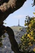 Leigh Burrell;Focussed Obelisk;One Tree Hill from Monte Cecilia Park