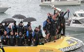 Stuart Weekes;Triumphant display of the America's Cup;Team NZ victory parade in Auckland