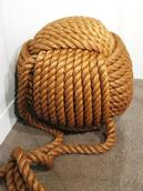 Stuart Weekes;Mighty ball of Rope;Knot Touch exhibit at the Maritime Museum